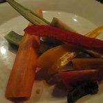 オルティージャ - 有機野菜のバーニャカウダ
