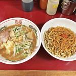 ラーメン二郎 - 「お茶漬け〜麺」¥970
