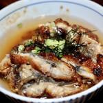 Unagiryouriunawa - 三杯目はお好みの薬味をのせ、出汁をかけて…
