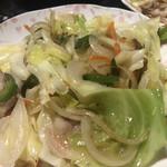 舘の丸食堂 - 野菜炒め