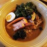 カレー&ごはんカフェ オウチ - 豚角煮スープカレー 1080円
