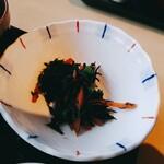 三枚目 助五郎 - 煮物:ひじき煮