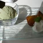 菓楽 - アイスプレート 1050円