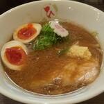 自家製麺 麺や ひなた - 料理写真:味噌らーめん(味玉)