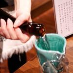 寿司の磯松 - 2020/11/27  注いでます。