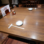寿司の磯松 - 2020/11/27  テーブルセッティング