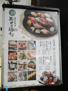 寿司の磯松 - 2020/11/27  メニュー