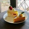 至福の時間 - 料理写真:苺ショート/かぼちゃのミルクレープ