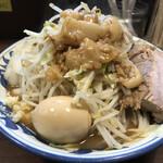 豪麺 マルコ - 特小らーめん細麺全マシ(730円)