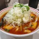 蒙古タンメン中本 - 【再訪】北極の秋(野菜大盛)