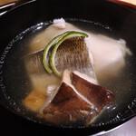 Muromachi Wakuden - 栗豆腐とかますと松茸のお椀