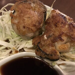 広島焼 HIDE坊 - 牡蠣ゆずポン酢