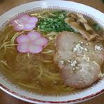 寿食堂 - 料理写真:中華そばです☆ 2020-1123訪問