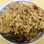 牛丼専門サンボ - 牛丼 大盛