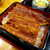 若荒井 - 料理写真:脂の乗った鰻。タレは甘すぎずふっくら、関東風の美味です