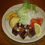 居酒屋 金扇 - 料理写真:飛騨牛サイコロステーキ