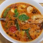 curry DELHI グルメ - 南インド風海老のココナッツカレー 770円