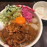 麺屋武蔵 武仁 - 「復刻!秋葉カリー麺2020」1,100円