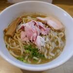 麺堂イズム - 料理写真:ニボ鶏そば大盛り900円