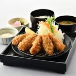 とんかつ KYK - 広島県産かきフライ膳