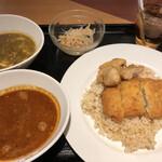 札幌スープカレー本舗 - レディースセット(2種類)