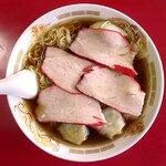 栄華軒 - 料理写真:チャーシューワンタンメン