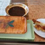 飯島商店 - 料理写真:イカ天といもフライとソース