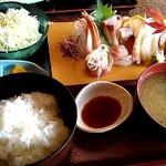 ニュー小や松 - 料理写真:刺身ランチ