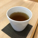 FUMUROYA CAFE  - セットドリンクの加賀棒茶