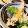 Takaraya - 料理写真:天ぷらぶっかけ(麺少なめ)