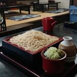 そば柳 - 料理写真:もりそば ¥550