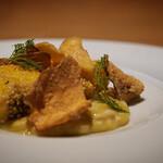 orage - 鱈 白子と安納芋と米 菊芋