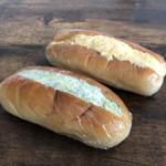 タケウチベーカリー - きゅうりドッグとたまごドッグ