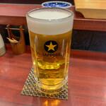 ひょっとこ寿し - 生ビール