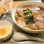 141741124 - チャーシューワンタン麺1150円(税込)と生卵50円(税込)
