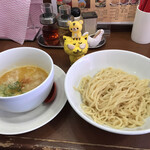 鶏そば専門店 らーめん風見鶏 - 濃厚つけ麺750円(税込)