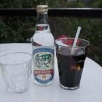 樹ガーデン - 鎌倉サイダーとアイスコーヒー