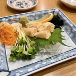 割烹 味とめ - 京湯葉刺