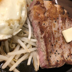 1ポンドのステーキハンバーグタケル - リブロースステーキ
