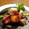 ビステリア 188 - 料理写真:コース料理の肉料理 お肉にフォアグラも混ざっていました。