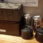 饗膳麺 昌㐂 - 内観