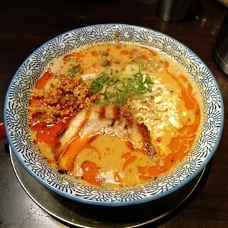 荒川らーめん魂 あしら - 料理写真:胡麻たっぷり手打ち担々麺