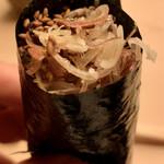 鮨 生粋 - ミョウガの海苔巻き
