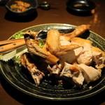 青柚子 - 2012.8 若鶏半身揚げ(1,280円)