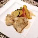 HermitageK - 本日のお魚料理はカレイ