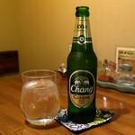 タイ料理 プリック天満 - チャーンビール