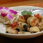 タイ料理 プリック天満 - パッガパオタレー(2人分)