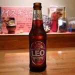 タイ料理 プリック天満 - レオビール