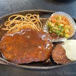 レストラン鳴海 - ハンバーグ