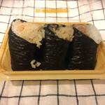 ほんのり屋 - * 宮城県産牡蠣めし 290円 * まぐろ角煮ツナマヨ 230円 * 鶏ごぼう 200円